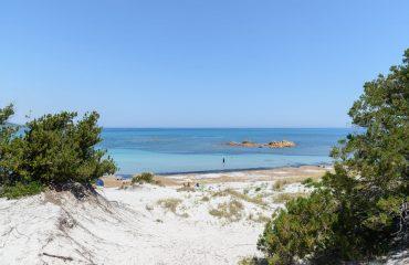 Le dune di sabbia di Capo Comino